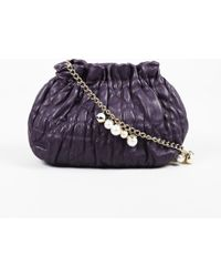 b931f9f9af809d Dior - Purple Delices Gaufre Cannage Leather Mini Shoulder Bag - Lyst