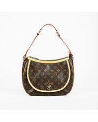 Louis Vuitton - Brown Monogram Canvas   Leather