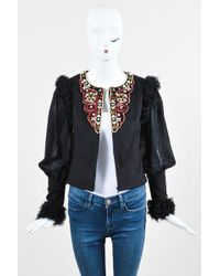 Chanel - Pre-owned Cashmere Blazer - Lyst