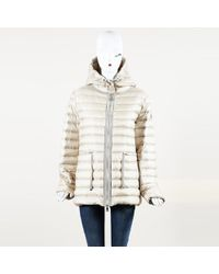 80cbe7776 Lyst - Moncler Ciclista Quilted Down Front Sweater Jacket