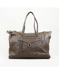 "Louis Vuitton - ""lumineuse Gm"" Monogram Empreinte Leather Bag - Lyst"