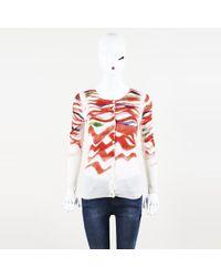 Piazza Sempione - Cashmere Silk Knit Cardigan - Lyst