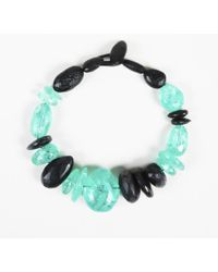 Monies - Resin Horn Beaded Necklace - Lyst