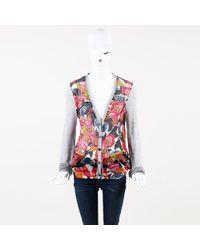 Thakoon - Floral Cotton & Silk Cardigan - Lyst