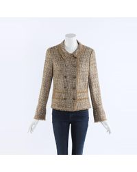 Chanel Metallic Fantasy Tweed Jacket