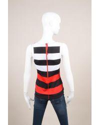 Pret-a-surf - Nwt Black Red White Stripe Rashguard Swim Tank Top - Lyst
