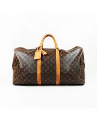 99f8efd37c27 Louis Vuitton - Vintage Brown Monogram Coated Canvas