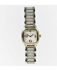 "David Yurman - 18k Gold Stainless Steel ""thoroughbred"" Watch - Lyst"