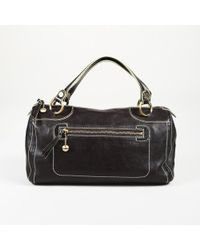 Céline - Vintage Leather Handbag - Lyst
