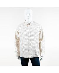 Marc Jacobs - Mens Cream Multi Printed Ls Collared Button Up Shirt - Lyst