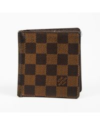 834abfa54ee6d Louis Vuitton - Brown Damier Canvas   Leather