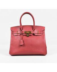 Hermès Birkin 30 Courchevel Bag