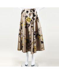 Rochas - Floral Print Maxi Skirt - Lyst