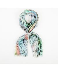 Matthew Williamson - Multicolour Abstract Butterfly Scarf - Lyst