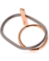 Eshvi | Hula Hoops Ring | Lyst