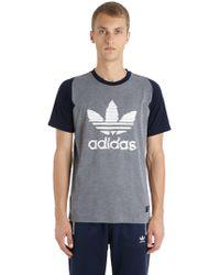 adidas Originals - United Arrows Logo Cotton Jersey T-shirt - Lyst