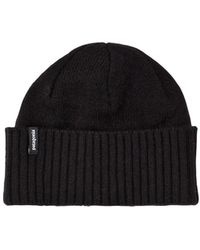 Patagonia - Brodeo Wool Blend Beanie Hat - Lyst