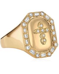 Stone Paris - Céleste Signet Ring - Lyst