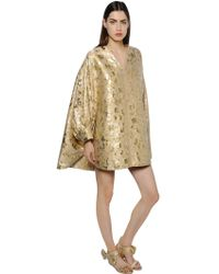 Gianluca Capannolo - Lurex Brocade Balloon Dress - Lyst
