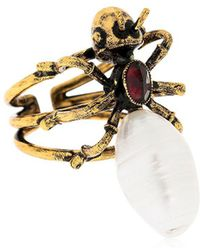 Alcozer & J - Ant Pearl Ring - Lyst