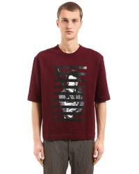 Antonio Marras   Printed Cotton Jersey Sweatshirt   Lyst