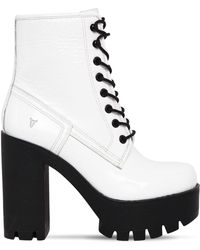 Windsor Smith - 120mm Eline Patent Leather Boots - Lyst