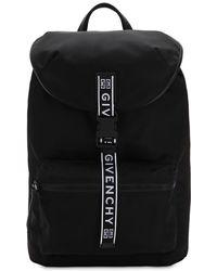 Givenchy - Ultraleichter Rucksack Aus Nylon Mit Logo - Lyst