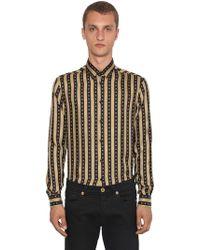 Versace - Camicia In Seta - Lyst