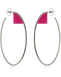 Sylvio Giardina - Barock Hoop Earrings - Lyst