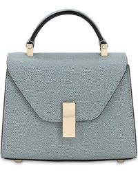 Valextra - Micro Iside Grained Leather Bag - Lyst