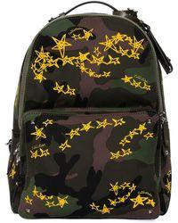 Valentino - Zandra Rhodes Stars Camo Backpack - Lyst