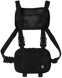 1017 ALYX 9SM Classic Mini Nylon Chest Rig - Black