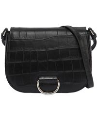 Little Liffner - Medium Saddle Embossed Leather Bag - Lyst