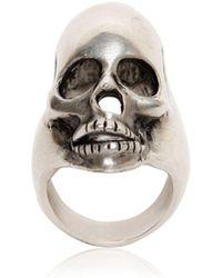 Saint Laurent - Skull Ring - Lyst