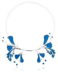 EK Thongprasert | Metal Flower Necklace | Lyst