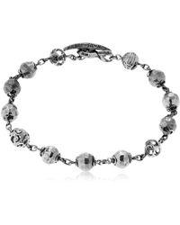 Marco Dal Maso - Fu Bracelet With Pyrite - Lyst