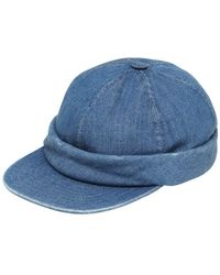 Beton Cire - Handmade Washed Denim Sailor Hat - Lyst