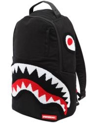 Sprayground - Ghost Shark Patches Canvas Backpack - Lyst
