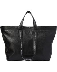 Balenciaga - Carry Shopper S Leather Bag - Lyst
