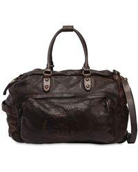 Campomaggi - Leather Duffle Bag Trolley - Lyst
