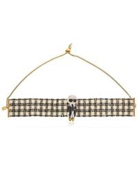 Bijoux De Famille - Karl Beaded Choker Necklace - Lyst