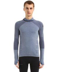adidas Originals - Climaheat Hooded Primeknit Sweatshirt - Lyst