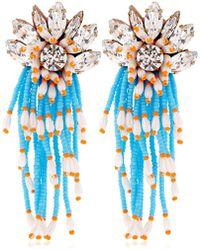 Shourouk - Cascade Earrings - Lyst