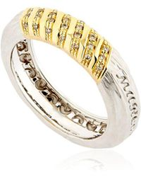Marco Dal Maso - The Other Half White Gold Ring - Lyst