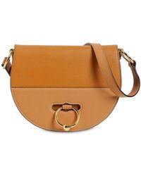 JW Anderson - Latch Leather Shoulder Bag - Lyst