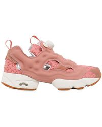 518094c8007c Lyst - Reebok Instapump Fury Printed Sneakers in White