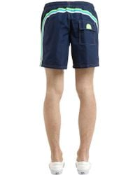 "Sundek - 16"" Nylon Swim Shorts - Lyst"