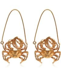 Givenchy - Cancer Earrings - Lyst