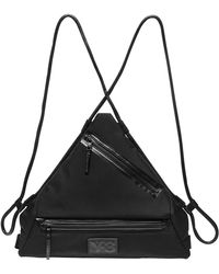 Y-3 - Qasa Triangle Nylon Backpack - Lyst