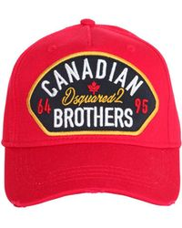 """DSquared² - Gorra De Baseball """"canadian Brothers"""" - Lyst"""